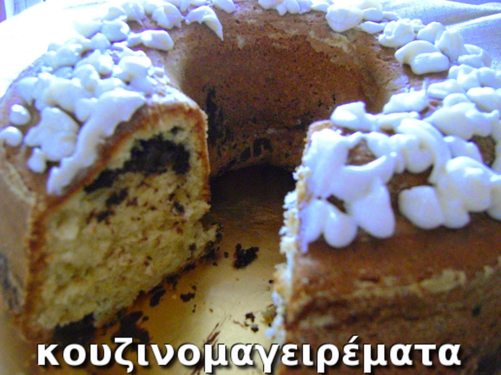 Κέικ με κουβερτούρα