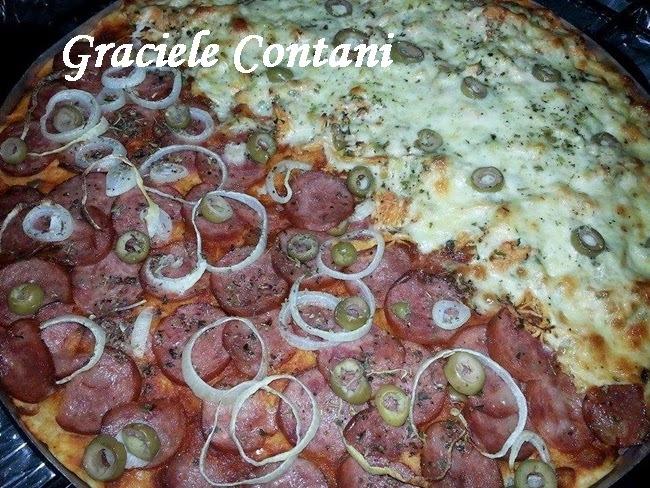 Pizza rápida, de Graciele Contani