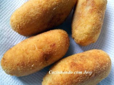 coxinha de batata sem farinha