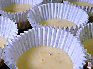 Muffins de naranja y limón