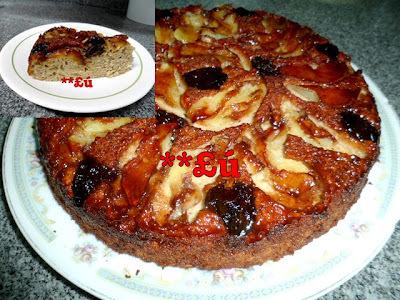 de bolo com farinha integral e açucar mascavo