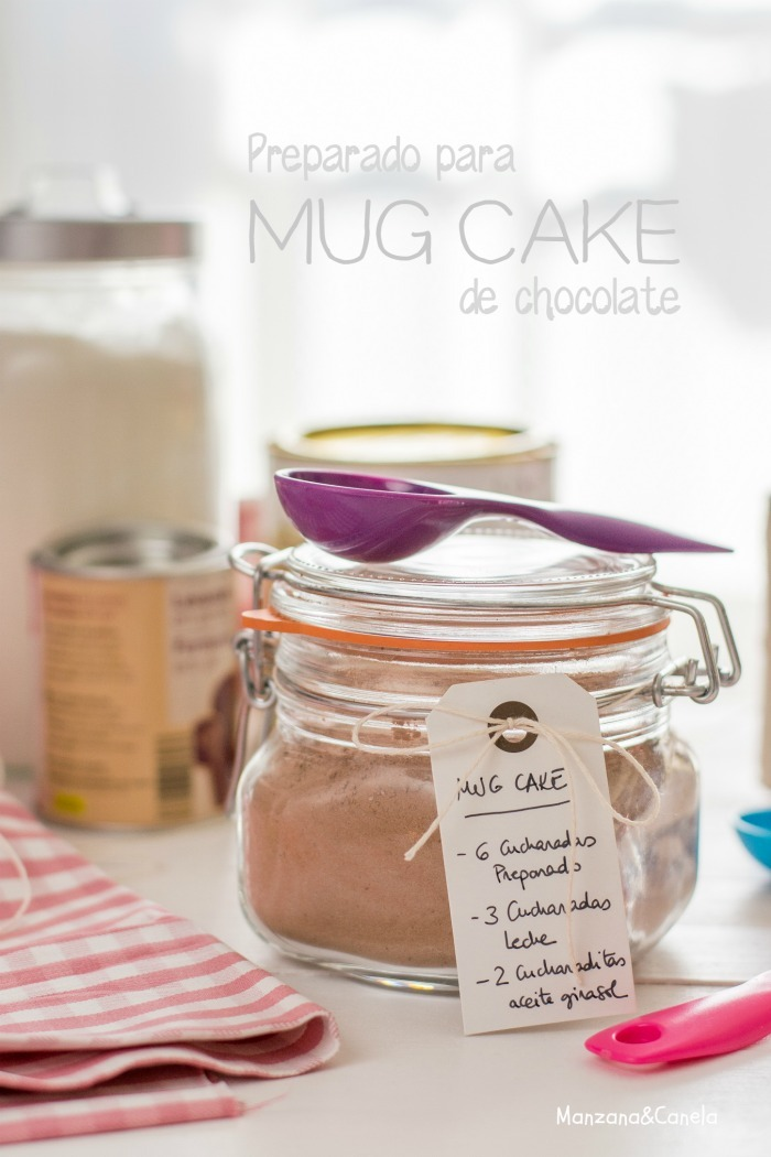 Preparado casero para mug cake: aún menos esfuerzo!