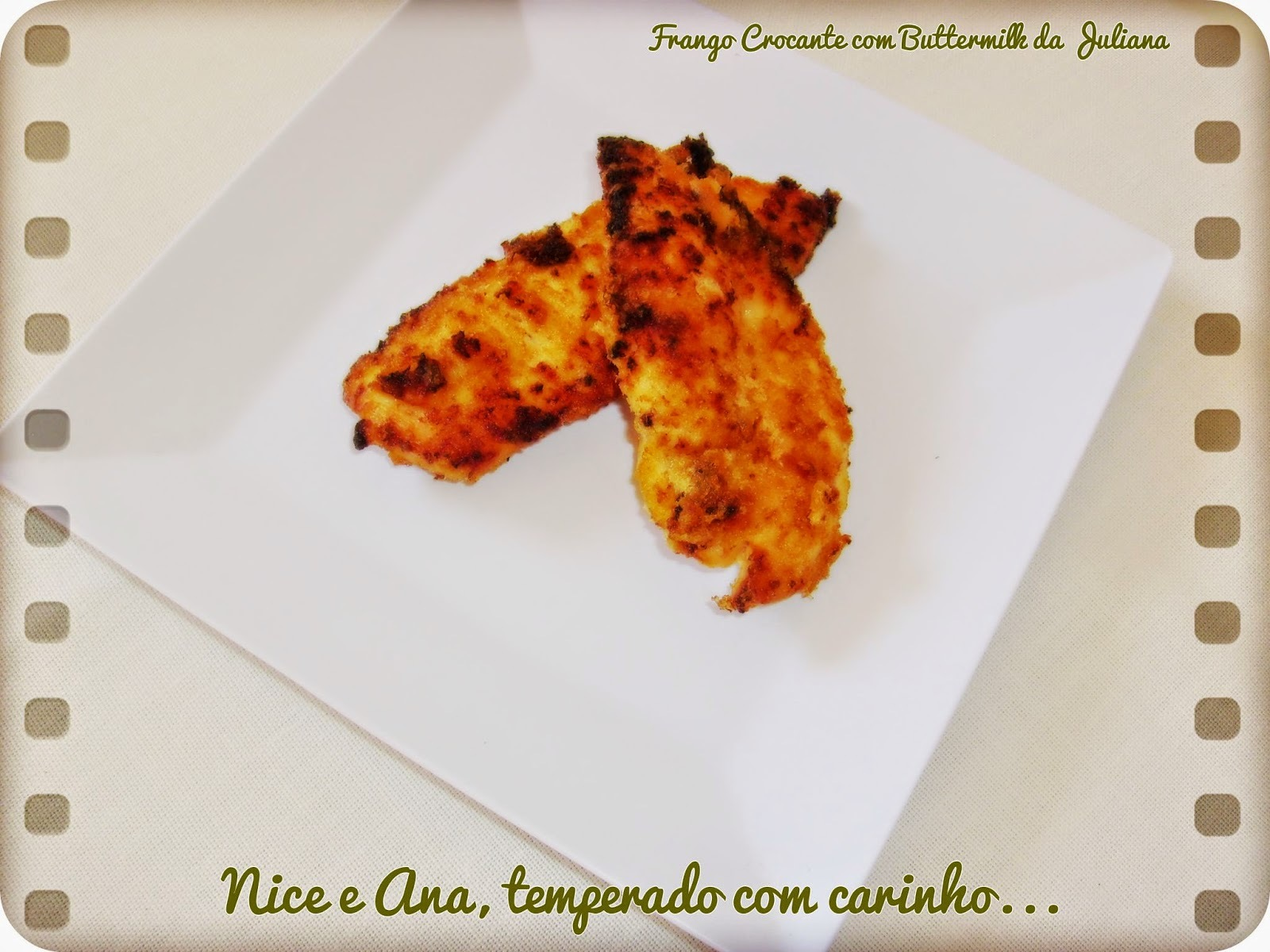 Frango Crocante com Buttermilk da Juliana