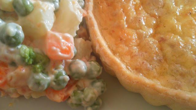 Recette de quiche aux crevettes et écrevisses - sans gluten - (cuisine suédoise)