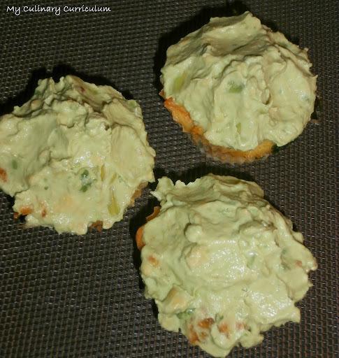 Cupcakes salés pommes mimolette coriandre