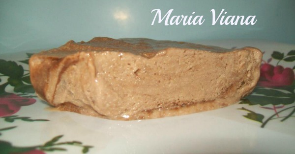 Pudim tipo sorvete: Maria Viana