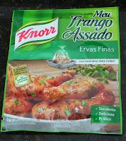 """Frango Assado com """"Meu Frango Assado"""" da Knorr"""