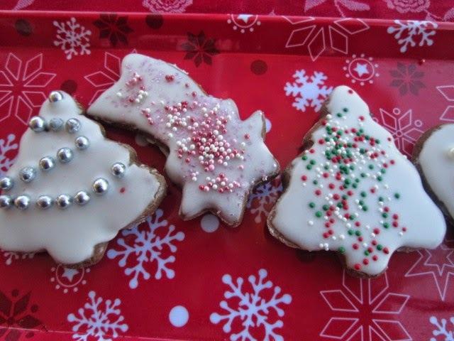 lebkuchen   german cookies  (Galletas alemanas de Navidad)