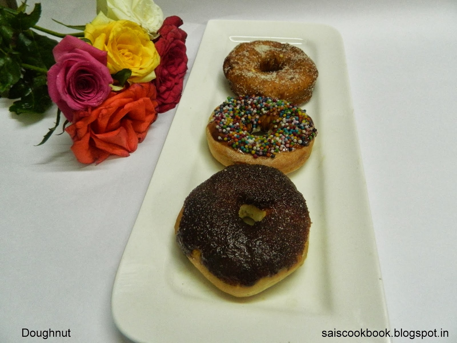 Doughnuts/Donuts for the first blog Anniversary