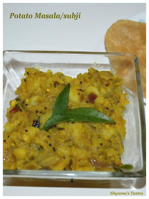 Potato Masala/Subji