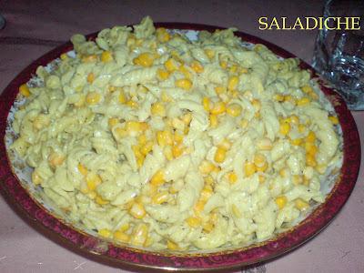maionese de macarrão simples