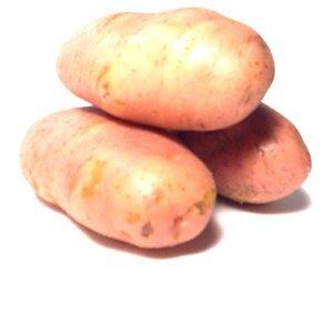 DICA: Batata asterix, essa rosada é mais enxuta, logo, fica muito melhor nos bolinhos que levam batatas
