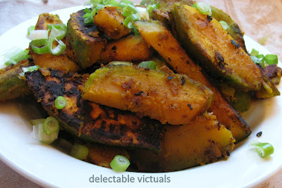 Pan-roasted Kabocha Squash