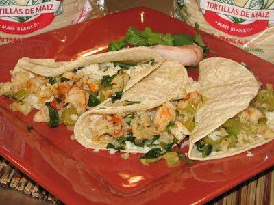 Tacos Gobernador.