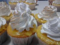 Cupcakes de limão e Merengue