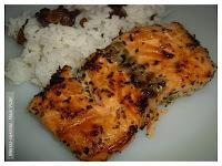 salmão grelhado sem pele temaki