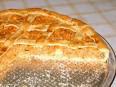 torta de massa podre com gordura vegetal