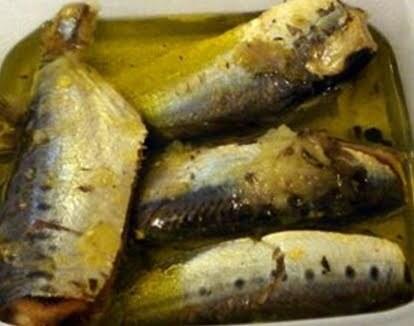 Sardinhas em Conservas ( feito na panela de pressão)