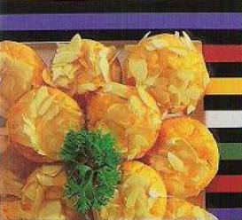 Magdalenas de calabaza con queso