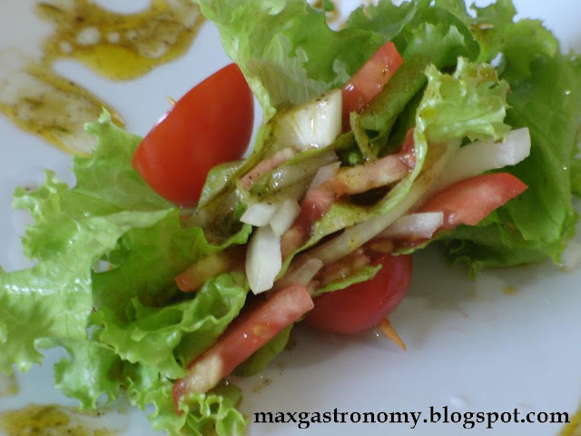 Receita No. 10 - Salada de Alface, Tomate e Cebola
