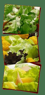 de salada com pão de forma e uva verde e uva passas