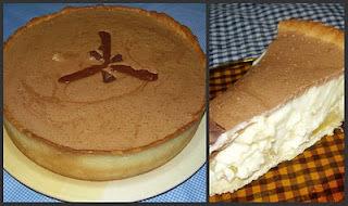 torta de abacaxi cozido