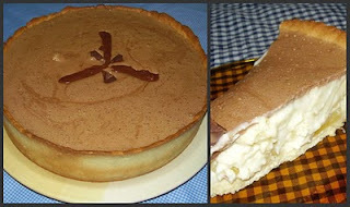 Torta Mousse de Chocolate e Abacaxi