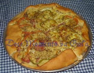Esfirra(esfiha) Gigante Aberta ou Pizza ????