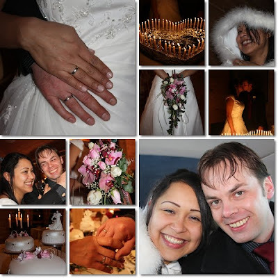 Eit nydelig askepott-bryllup..!