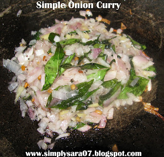 Healing food - Simple Onion Curry