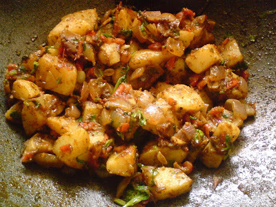 Kitchen Experiments: Pudinewaale Aloo