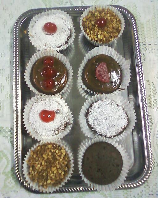 como decorar muffins facil