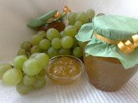 Bijelo grožđe - marmelada sa vermouthom i liker