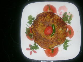 VEGETABLE OMLETTE(EGG LESS)