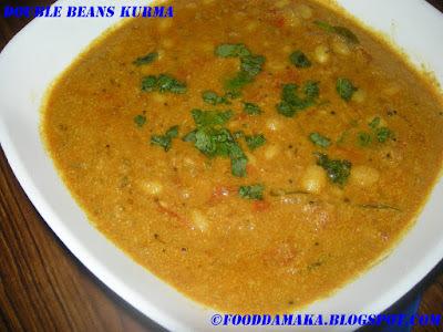Double Beans Kurma