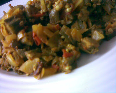 Okra/Bhindi Curry