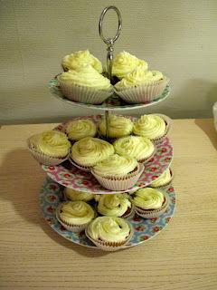 Gulrot-cupcakes!