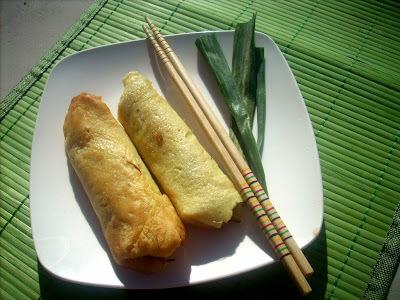 Panqueke crab rolls (Carlos Monge)