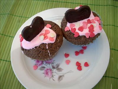 San Valentine's cupcakes