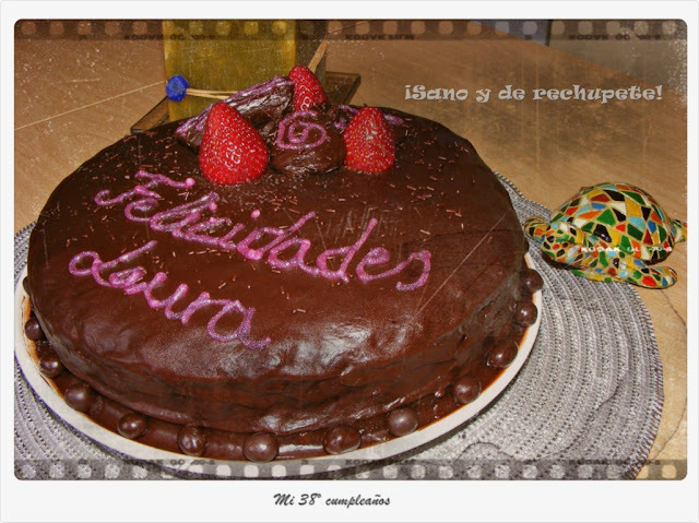 Placer adulto: tarta de chocolate y naranja (chocolate and orange cake)