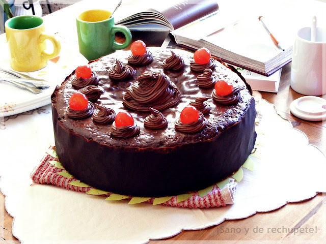 Tarta de chocolate y moka: especial cumpleaños