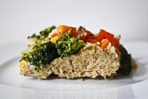 torta salgada light com farinha integral