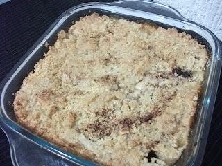 Torta Farofa de Maçã
