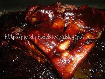 como temperar costela de porco com mostarda