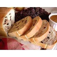 pão de cará na maquina de pão