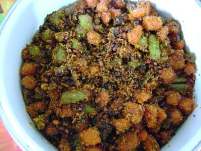BEANS N CARROT COCONUT FRY