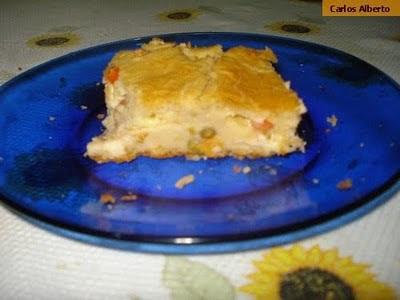 torta de sardinha de liquidificador simples