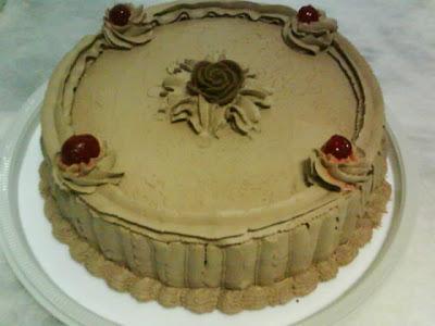 de bolos molhados sem recheios