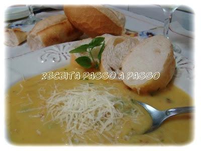 Sopa Cremosa de Mandioquinha (Batata Baroa)