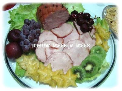 salada de tender defumado